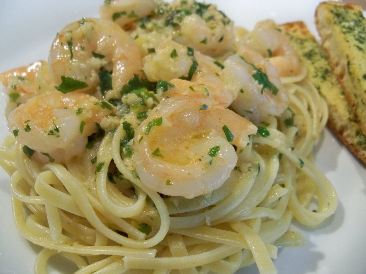 Day 3: Garlic Lime Shrimp Pasta – Gourmet: Day To Day