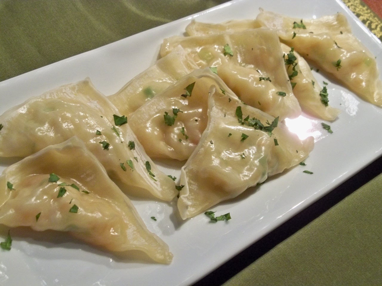 Thai Food Friday: Shrimp and Scallion Dumplings – Gourmet: Day To ...
