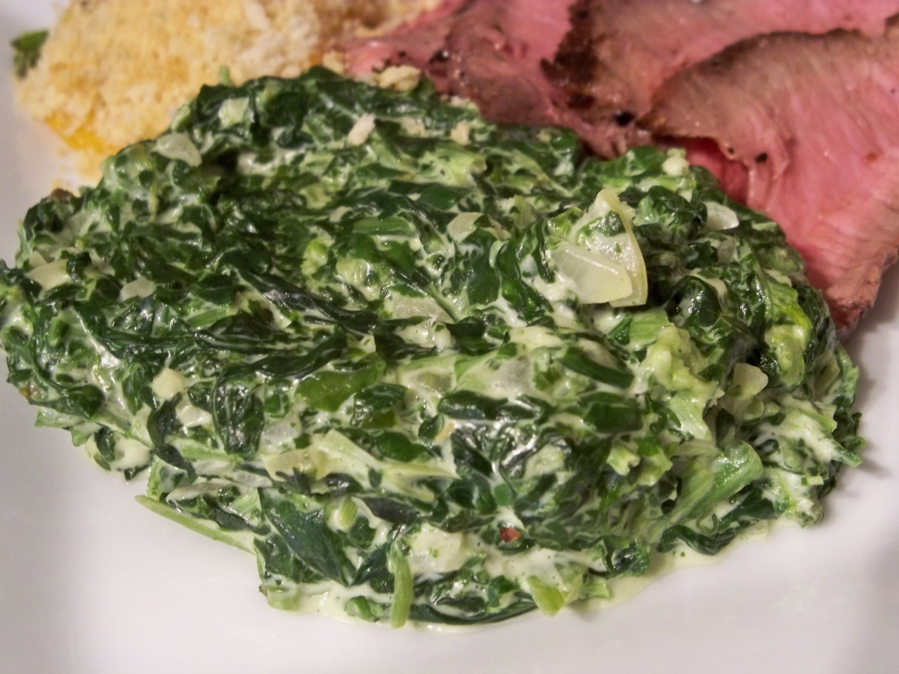 Creamed Spinach – Gourmet: Day To Day