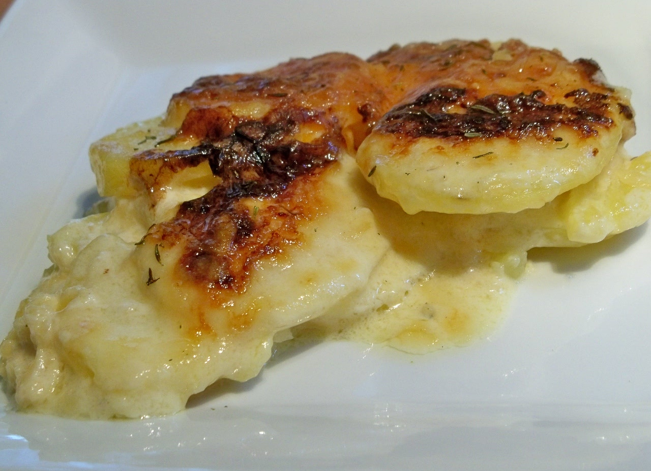 potatoes dauphinoise gourmet day to day
